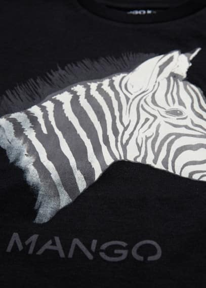 Animal printed t-shirt