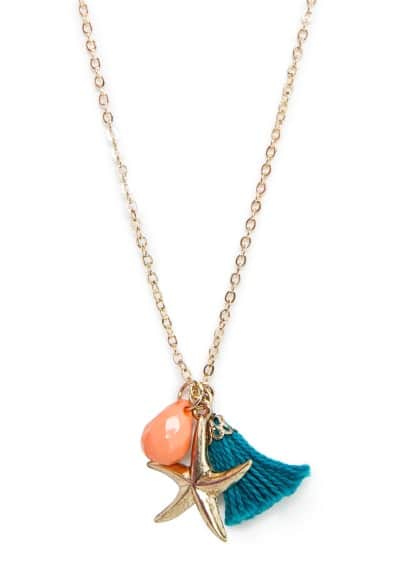 Tassel star necklace