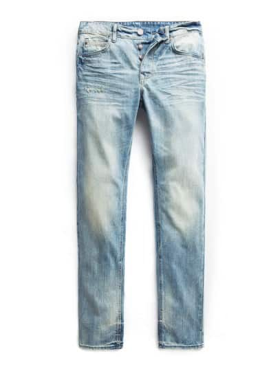 Steve slim-fit jeans met medium wassing