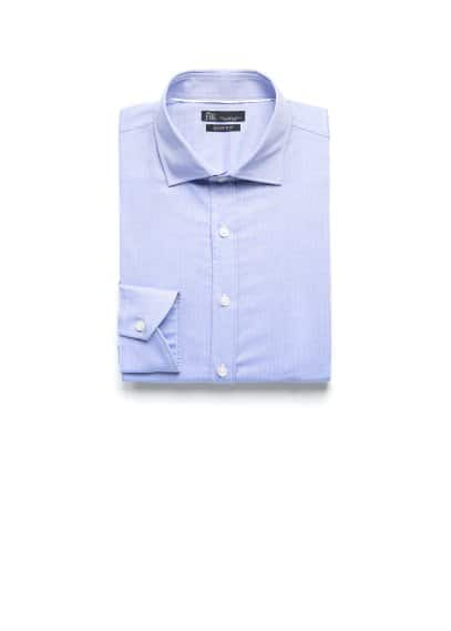 Slim-fit Premium textured shirt