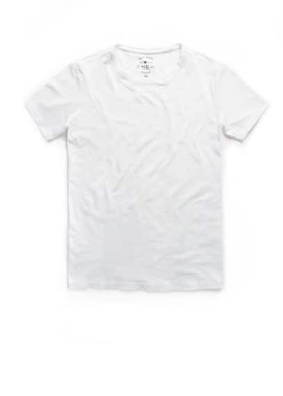 Basic katoenen T-shirt