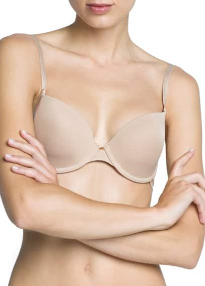 Trim foam bra