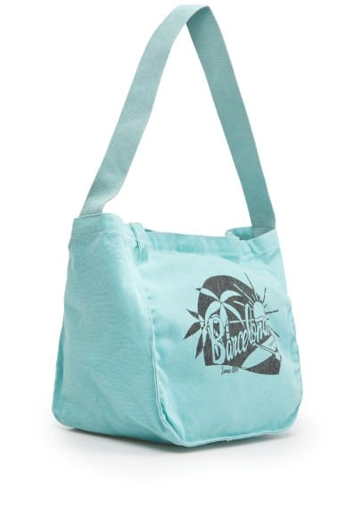 Neon canvas bag
