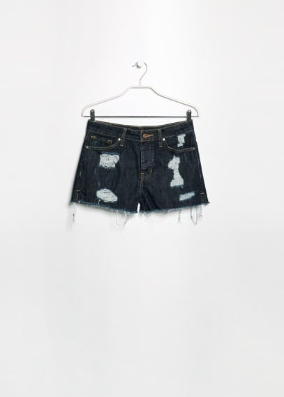Short denim scuri