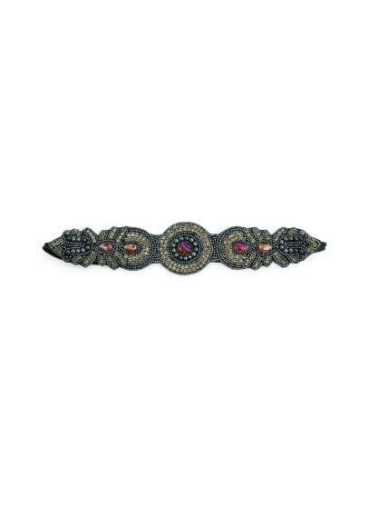 Bead rhinestones hairband