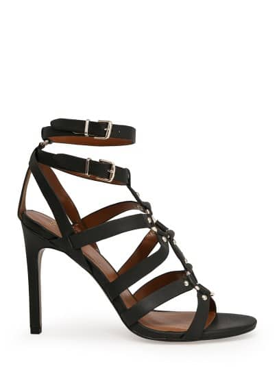 Ankle-cuff gladiator sandals