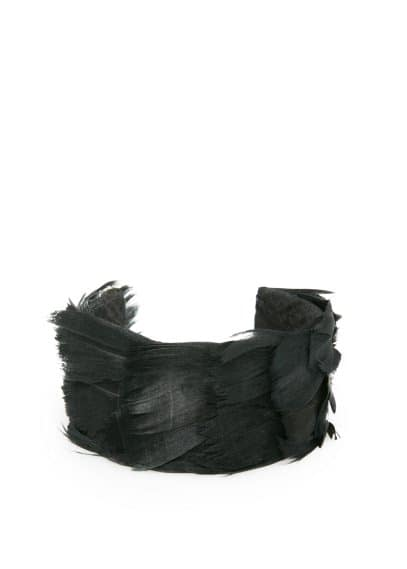 Feather wide cuff