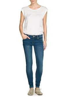 Super slim-fit medium wash jeans