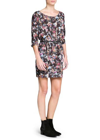 Floral print lightweight dress