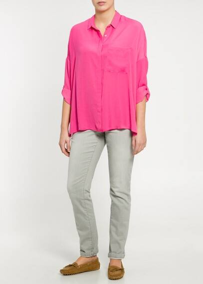 Lightweight boxy blouse