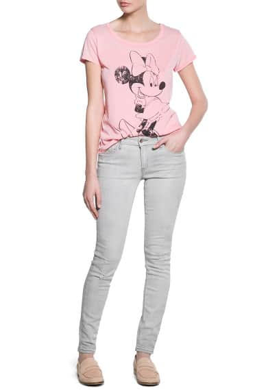 T-shirt Minnie et Mickey