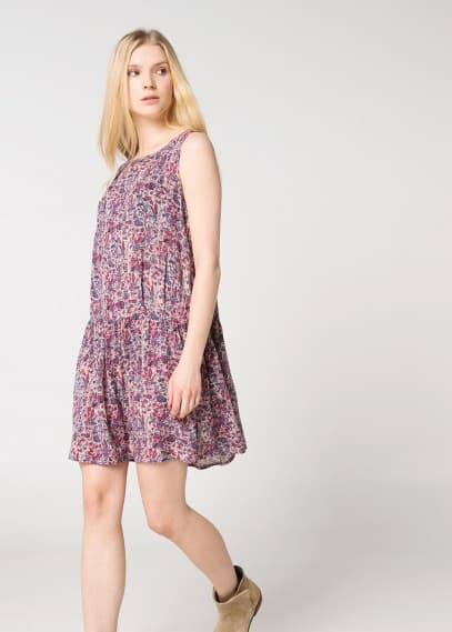 Printed lightweight dress