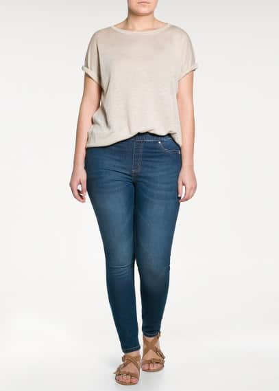 Jeggings lavaggio scuro