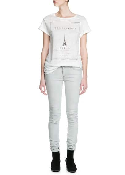 Paris linen t-shirt