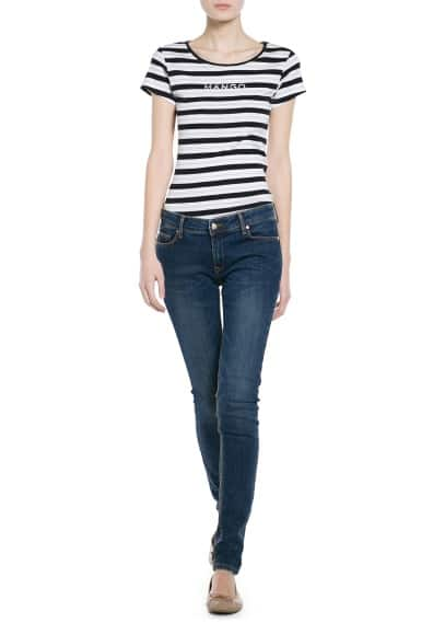 Logo striped t-shirt
