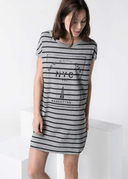 NYC striped dress