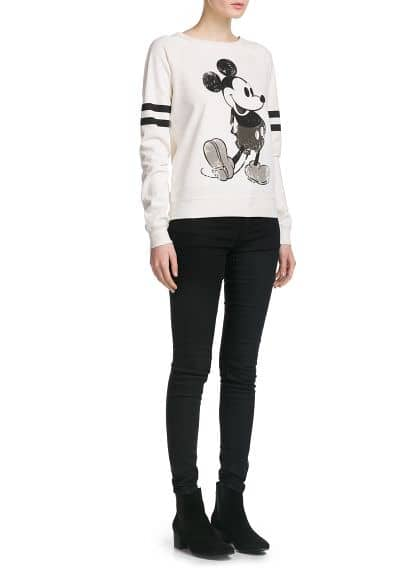Sweat-shirt Mickey