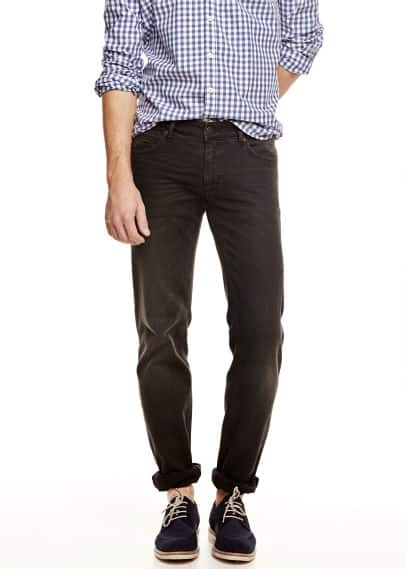 Jeans Alex slim-fit negros