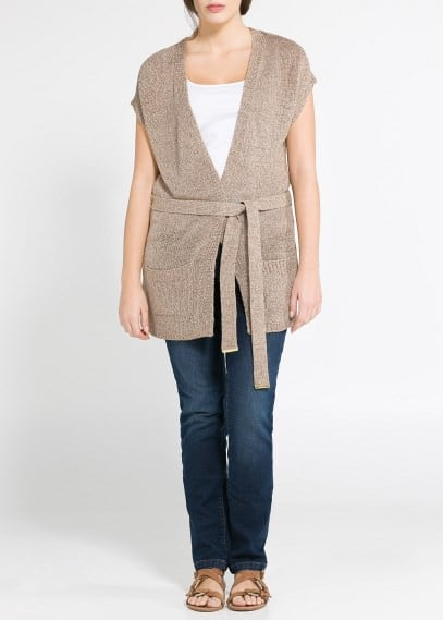 Metal thread vest
