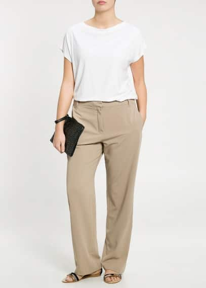 Straight-fit trousers