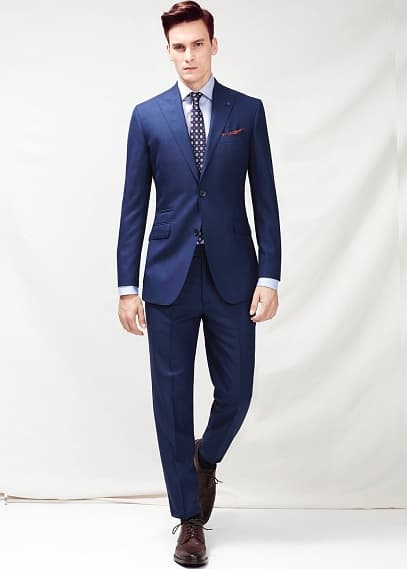 Deep blue Sevilla suit