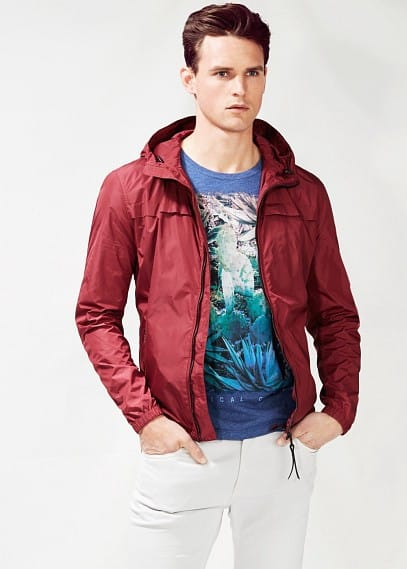 Casual technical jacket