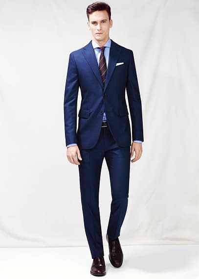 Slim-fit Basilia suit