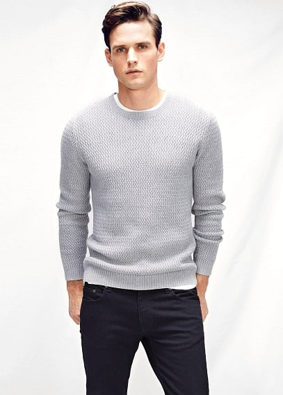 Wool-blend sweater