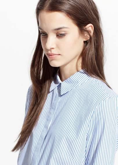 Striped shirt | MANGO