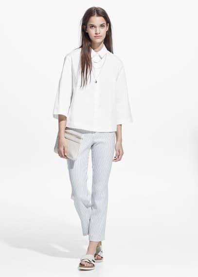 Camisa algodón | MANGO