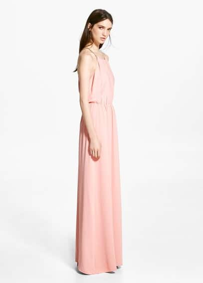 Online exclusive - flowy dress | MANGO