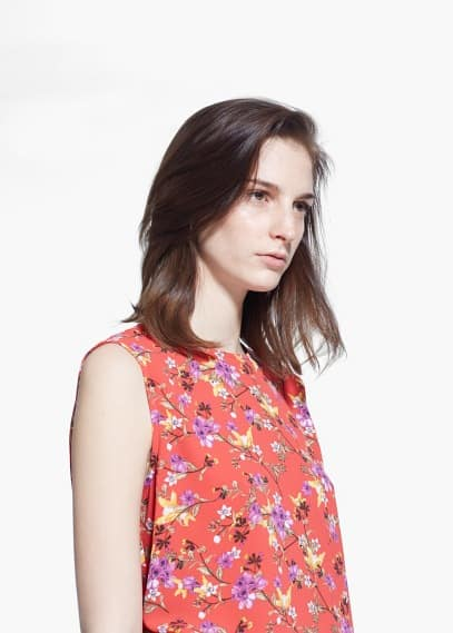 Top estampado floral | MNG