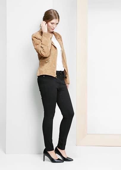 Cecile super slim-fit jeans | VIOLETA BY MANGO