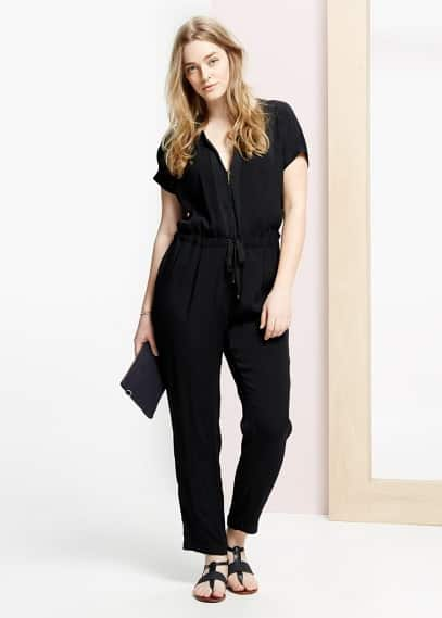 Short sleeve jumpsuit | VIOLETA BY MANGO