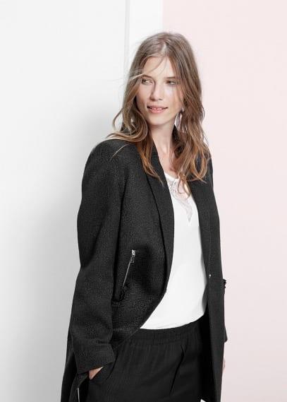Fantasy patterned coat | VIOLETA BY MANGO