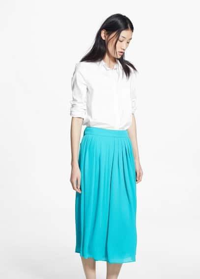 Falda plisada | MANGO