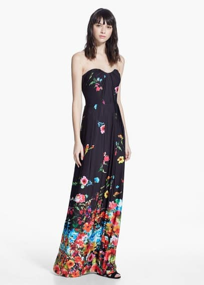 Long flowy gown | MANGO