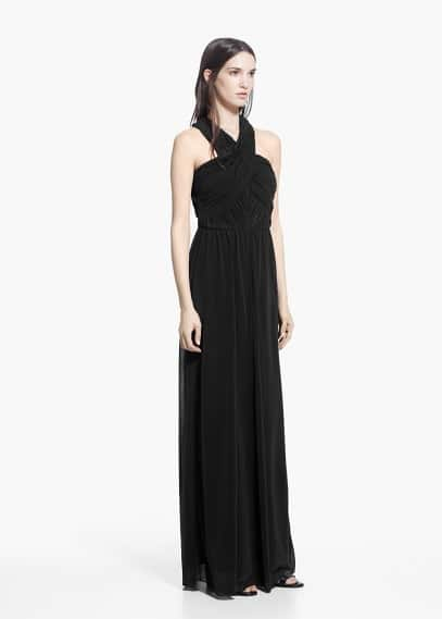 Online exclusive - draped gown | MANGO