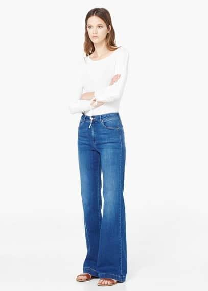 Flared martina jeans | MANGO