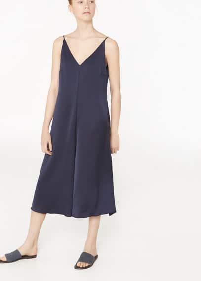 Premium - flowy capri jumpsuit | MANGO
