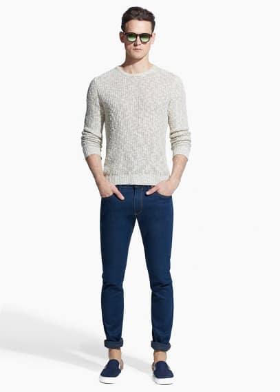 Skinny navy Jude jeans