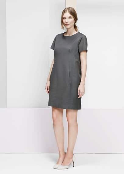 Bavlněné šaty | VIOLETA BY MANGO
