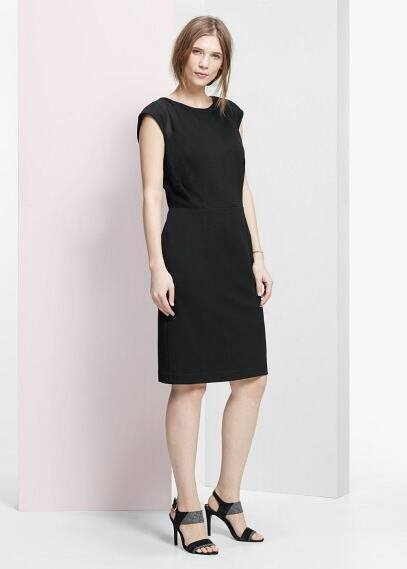 Lace panel dress | VIOLETA BY MANGO