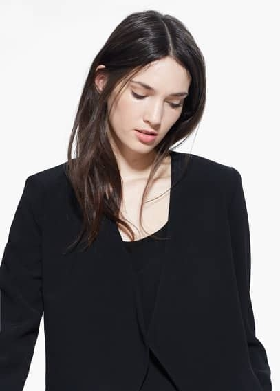 Waterfall structured jacket | MANGO