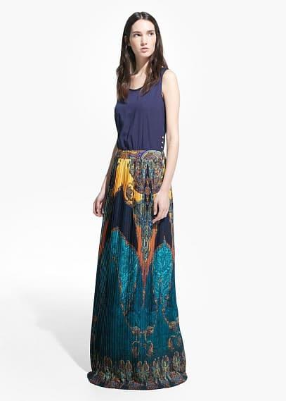 Robe jupe plissée | MANGO MAN