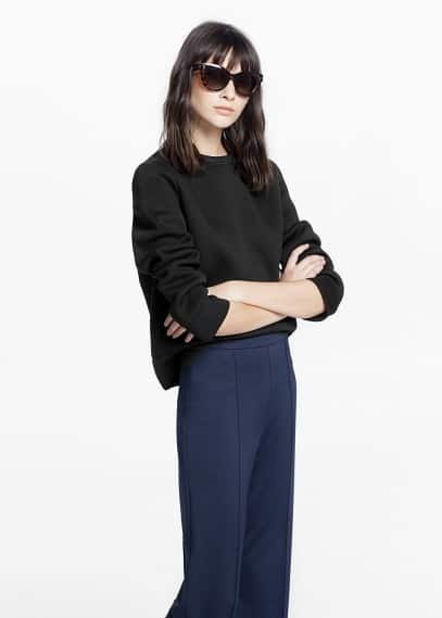 Straight seam trousers | MANGO