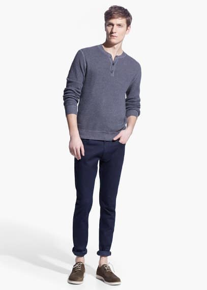 Dunkle skinny jeans jude | MANGO MAN