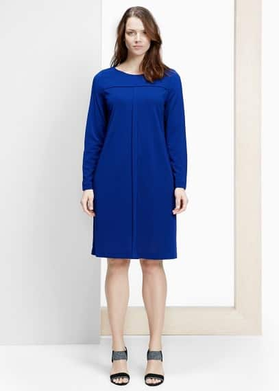 Trim shift dress | VIOLETA BY MANGO