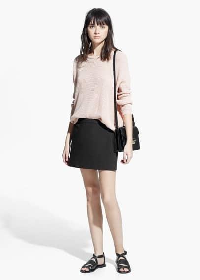 Cotton miniskirt | MANGO