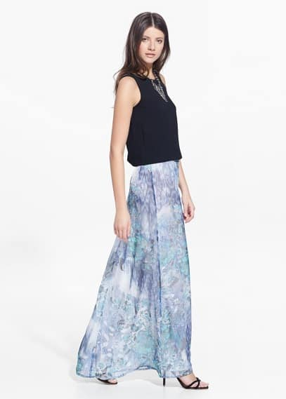 Country specials - printed long skirt | MANGO
